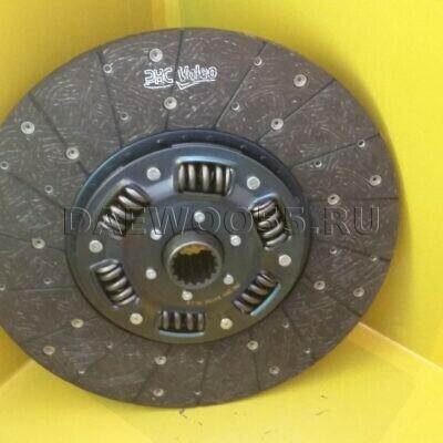 Диск сцепления DE12-DE08-DL08-F4AE (VKD24180 16011 25007) 430250 16 шлицов 33120-00360