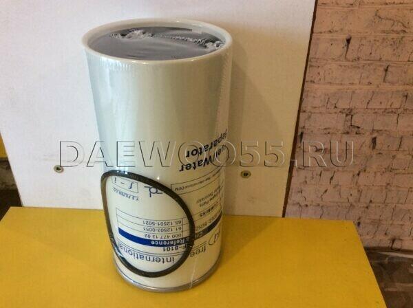 Фильтр топливный отстойник DV11, DL08 65.12501-5021 65.12503-5100, 65125015021 65125035100