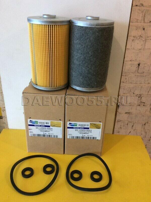 Фильтр топливный DE12 65.12503-5002, 65.12503-5004, 65.12503-5002 (65125035002, 65125035004, 65125035002)
