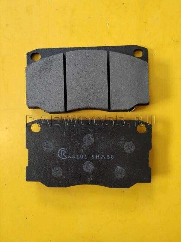 Колодки тормозные дисковые HD-65 58101-5HA30, 581015HA30