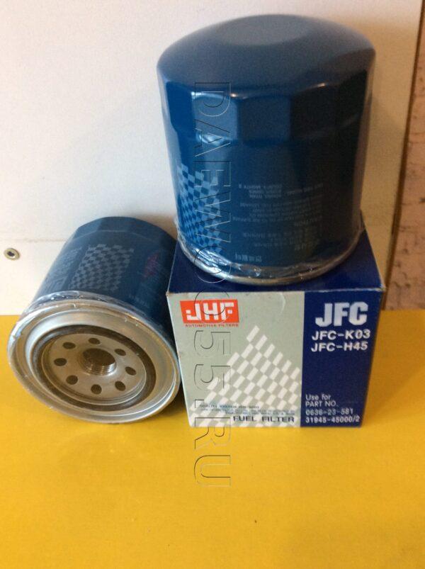 Фильтр топливный (JFC-H45K03) D4АL D4DB (County HD72) 31945-45001, 3194545001, 31945-41001