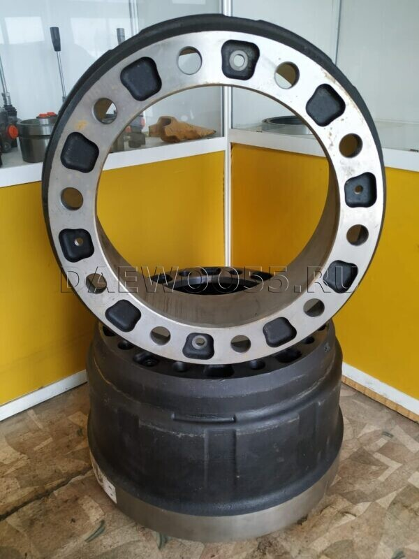 Барабан тормозной задний 34542-01162, 3454201162, SW1042, DL30-01400