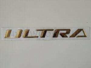 Буквы на капот ULTRA 37125-00880. 3712500880