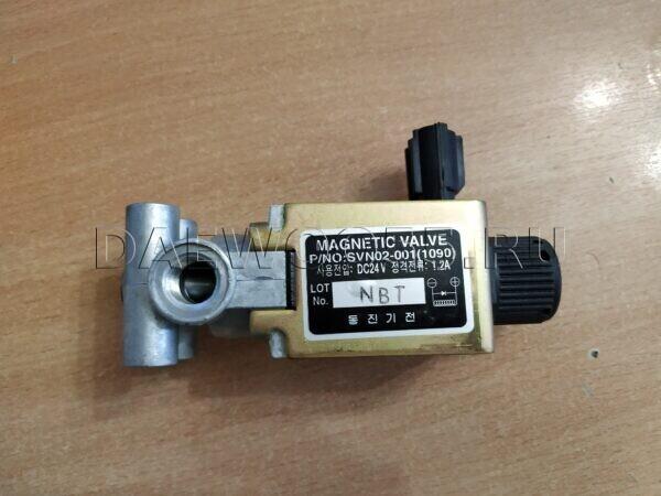 Клапан (соленоид) блокировки мостов SVN02-001(1090), 33513-00810, 3351301090