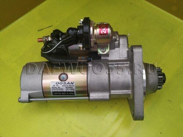 Старер Daewoo DL08 300516-00015, 30051600015