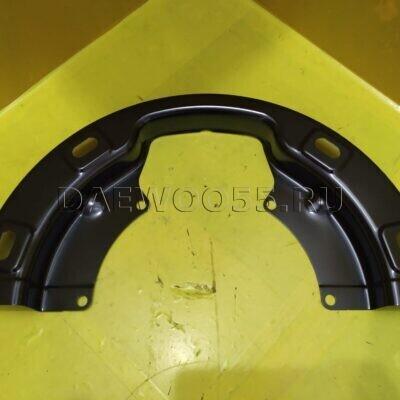 Пыльник тормозного барабана D.Ultra задний (пневматич. торм.) (верх) 3454203931 3454203930