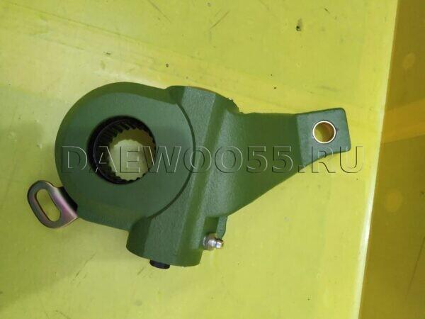 Трещотка тормозная FR LH Daewoo Ultra 15t кривая 25 шлицов (AUTO) 34541-00840, KBP0300